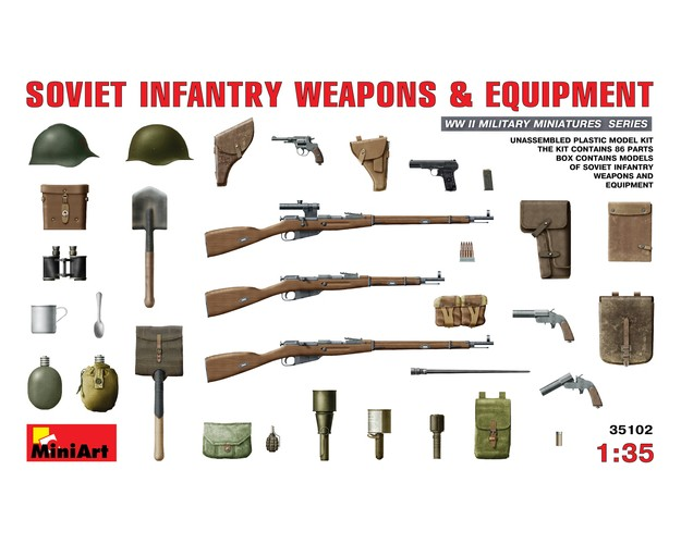 """Soviet Infantry Weapons and Equipment"""