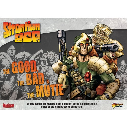 STRONTIUM DOG – THE DOG, THE BAD & THE MUTIE – STARTER SET