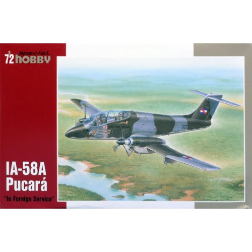 IA-58A PUCARÁ - IN FOREIGN SERVICE