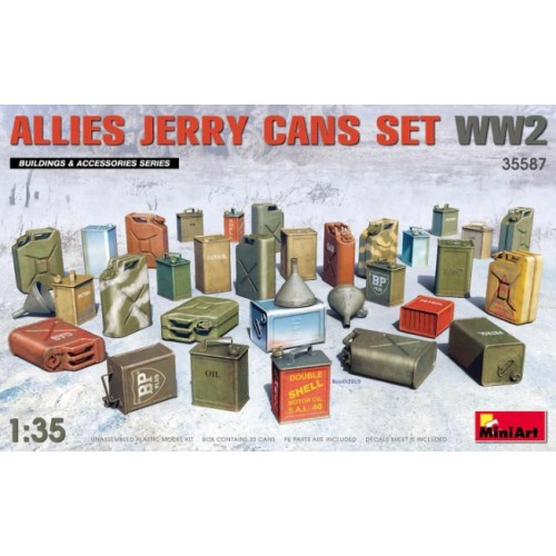 Allies Jerry Cans Set WW2 (2019)