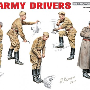 RED ARMY DIRVERS